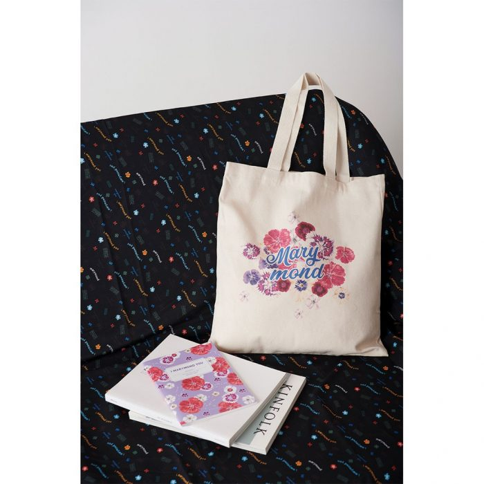 korean bag brands marymond canvas tote bag floral