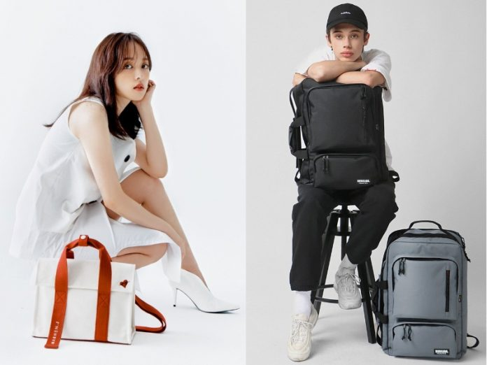 korean bag brands female male unisex marhen.j bubilian
