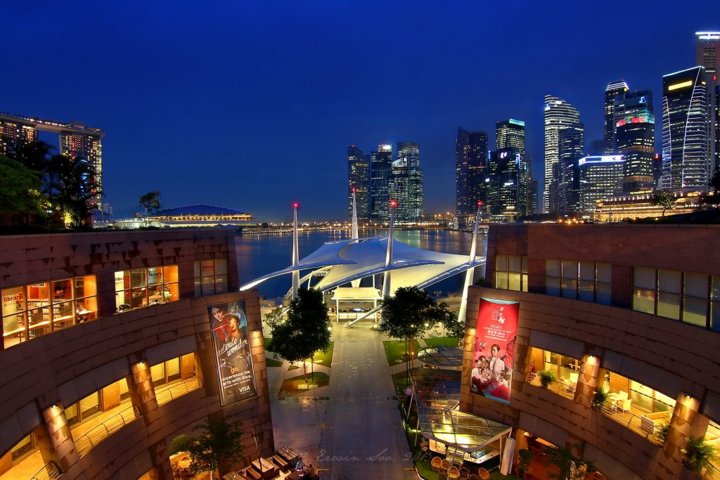 esplanade roof terrace where to watch f1 in singapore 2019