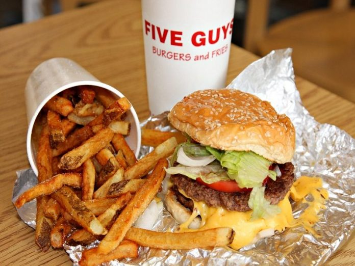 american restaurants in singapore five guys