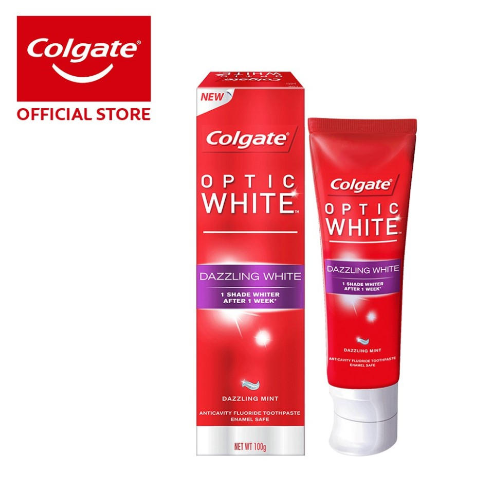 Colgate Optic White Dazzling White Whitening Toothpaste