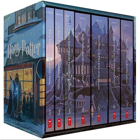 harry potter good books for teens