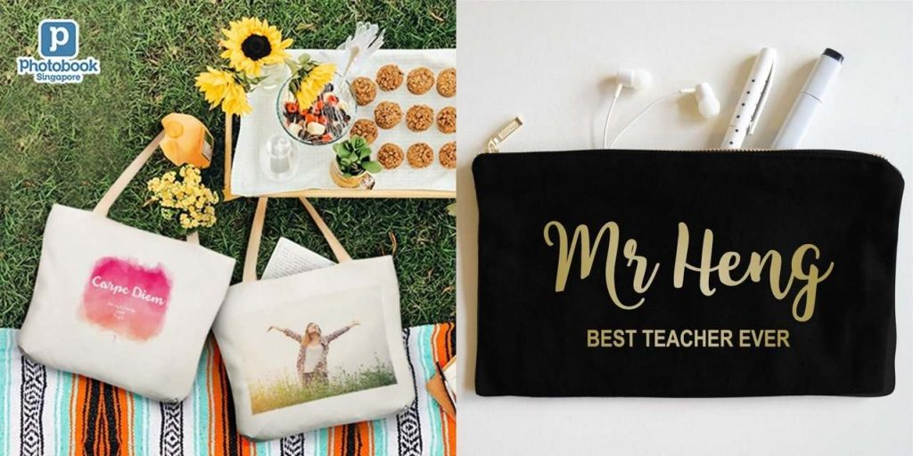 teacher's day gift ideas singapore personalised bag