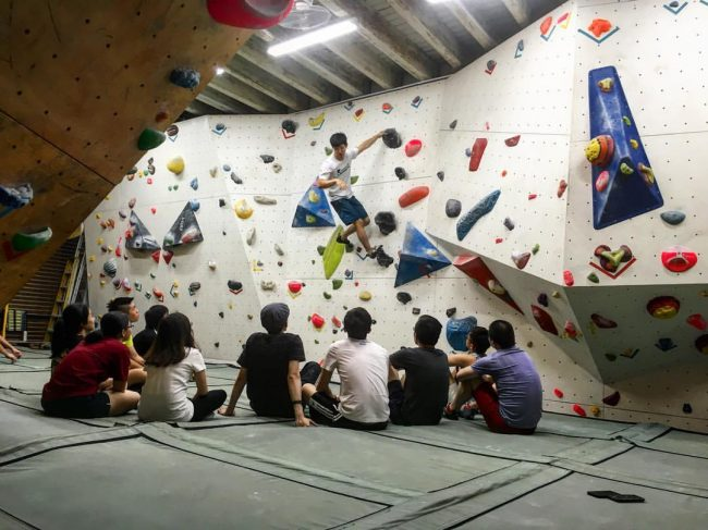 climbing gym singapore kinetics climbing top rope bouldering shop