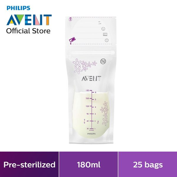 philips avent breast milk storage bag breastfeeding
