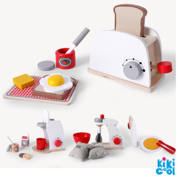 best gifts for children day wooden kitchen play set