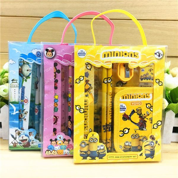 childrens day gift idea for kids stationery set minion