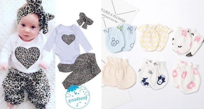 newborn checklist baby clothes mittens sleepwear