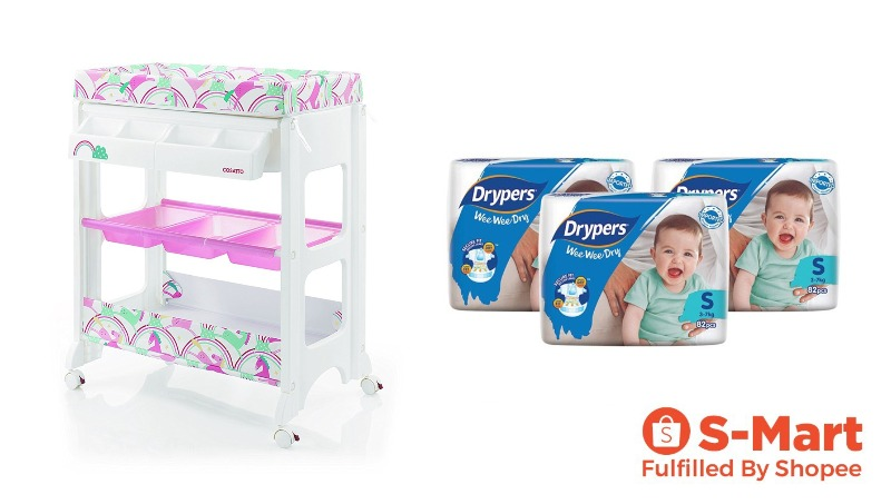 newborn checklist diapers changing table baby pampers