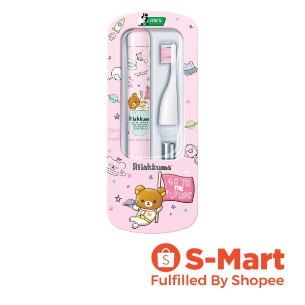 children's day gift idea for kids darlie rilakkuma sonic toothbrush