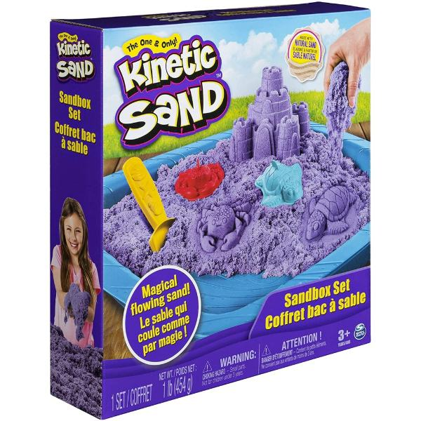 children's day gift idea for kids spin master kinetic sand sandcastle