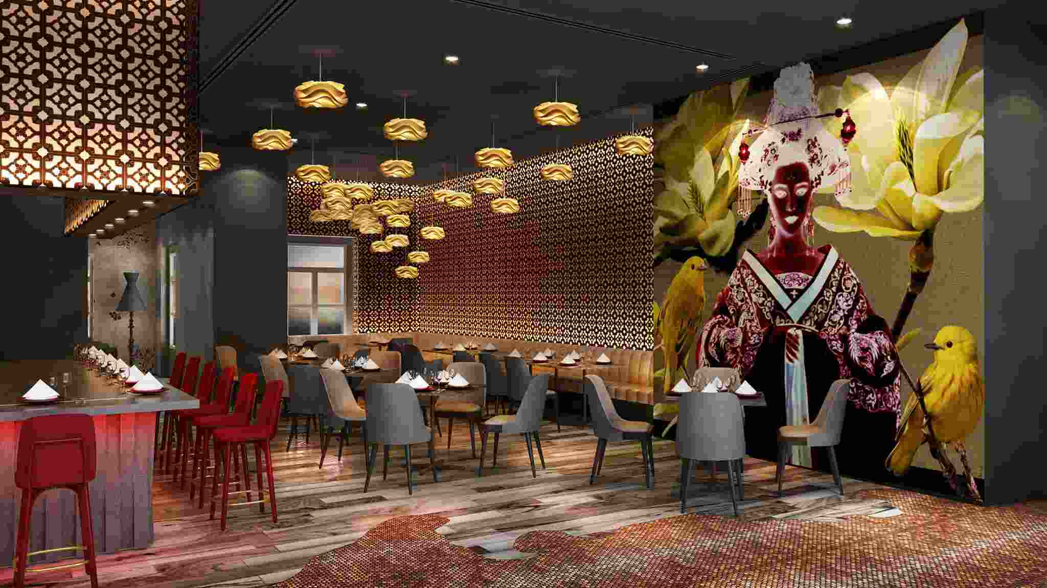 coriander leaf restaurant for big group singapore