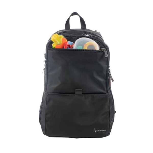newborn checklist diaper bag 13thirteen black