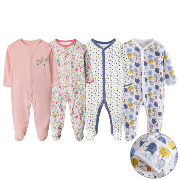 newborn checklist baby sleepwear romper pure cotton