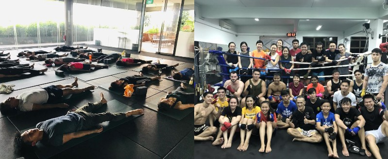 physical classes fun things to do in singapore with friends