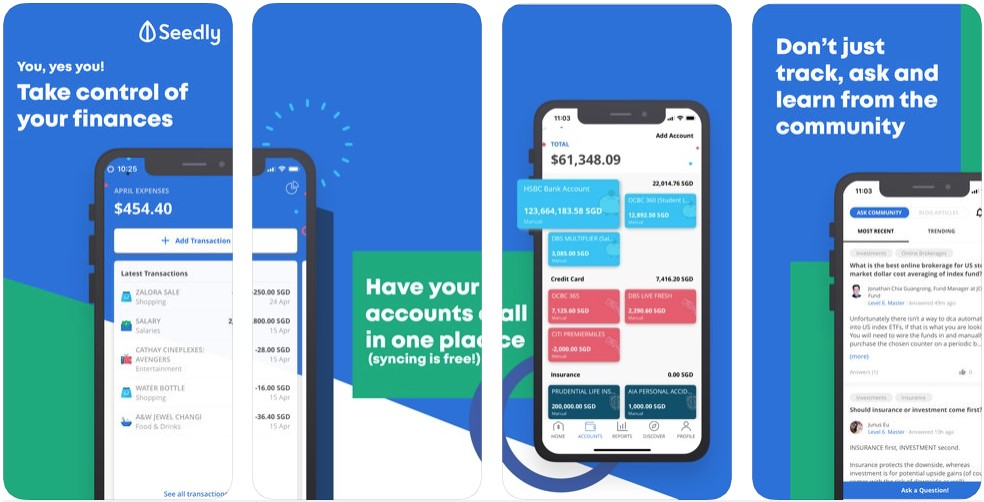 seedly best expense tracker apps
