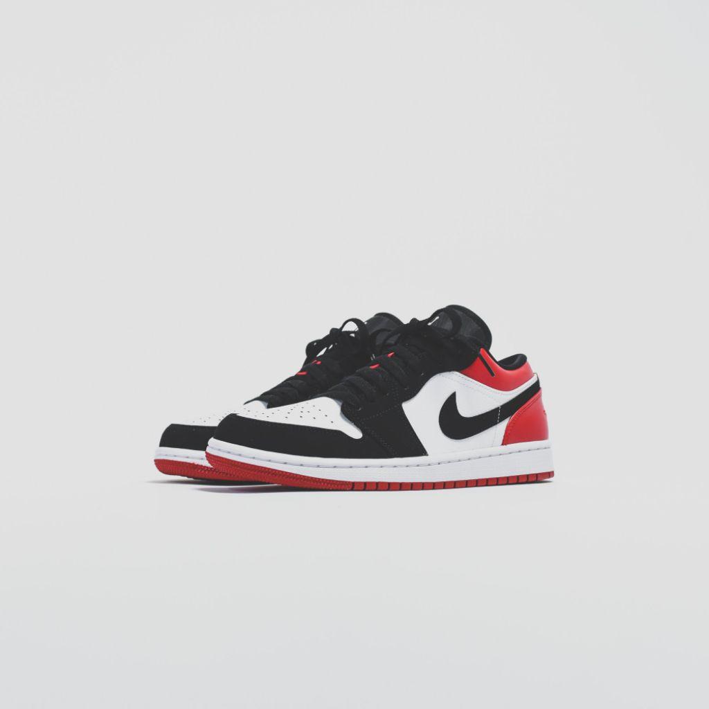 """Air Jordan 1 Low """"Black Toe"""""""