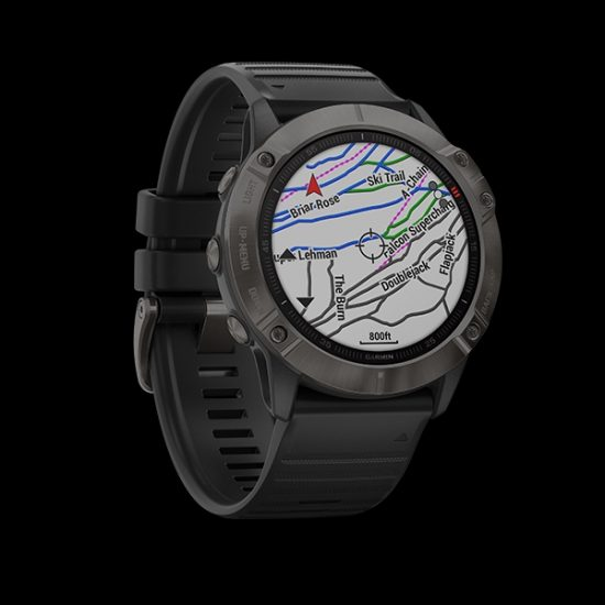 garmin fenix 6x black outdoor