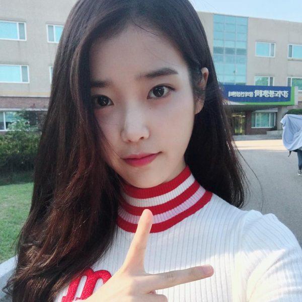 how to draw eyebrows iu korean straight brows kpop idol