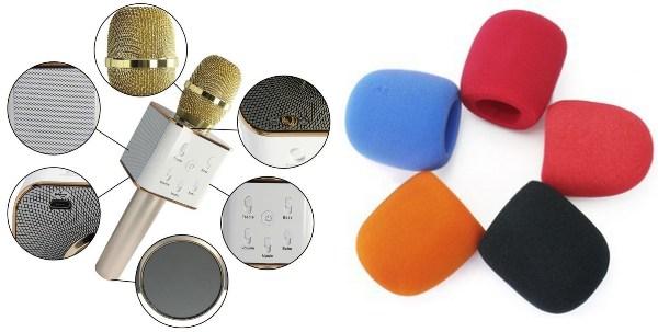 wireless bluetooth microphone foam cover