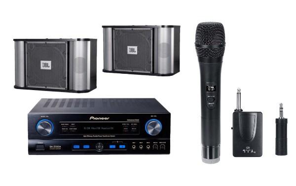 pioneer jbl speaker amplifier uhf wireless microphone