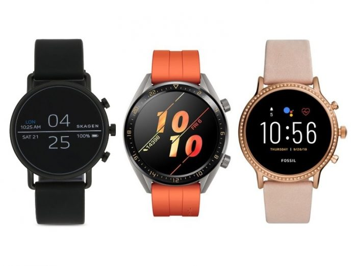best smart watch singapore fossil female huawei sports skagen black