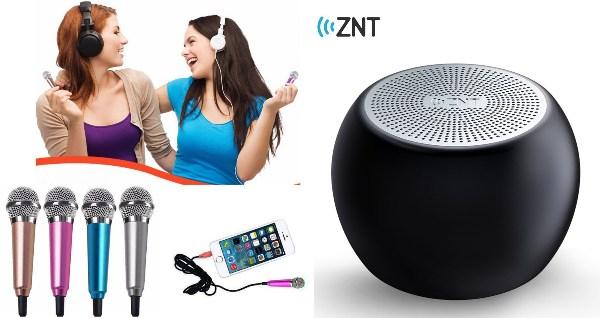 ini portable microphone bluetooth speaker