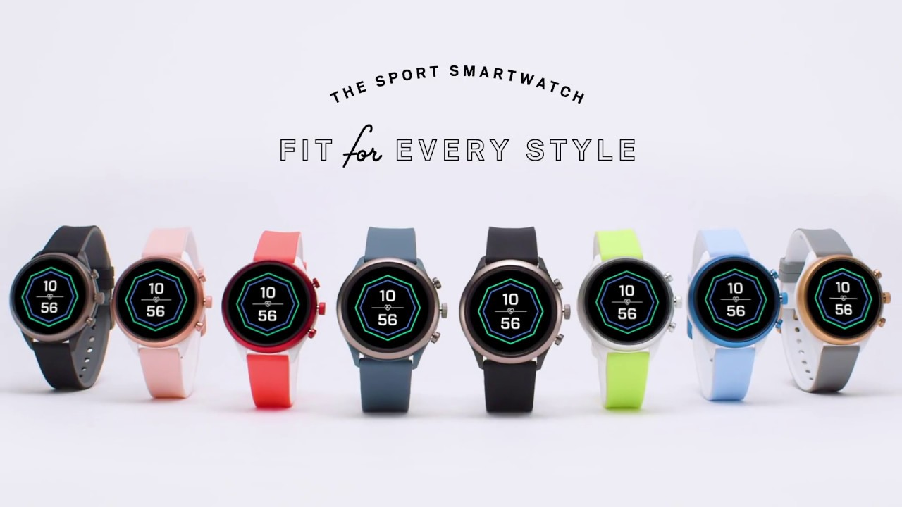 Best smartwatches Fossil Sport