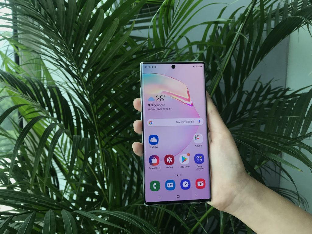 samsung galaxy note10+ review slim design