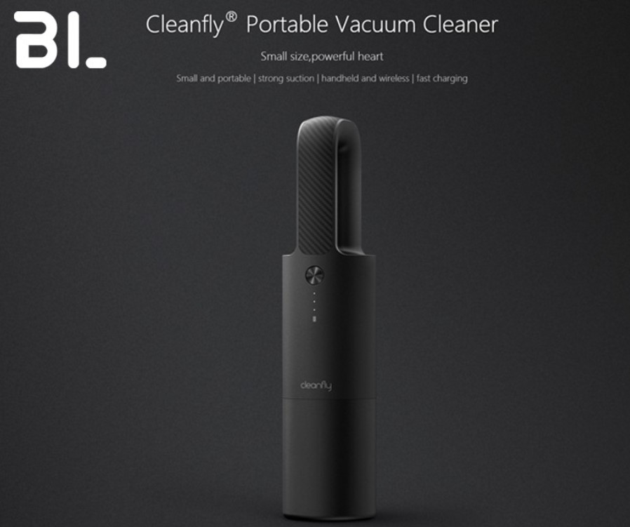 Xiaomi Cleanfly Car Wireless Cleaner Portable Vacuum