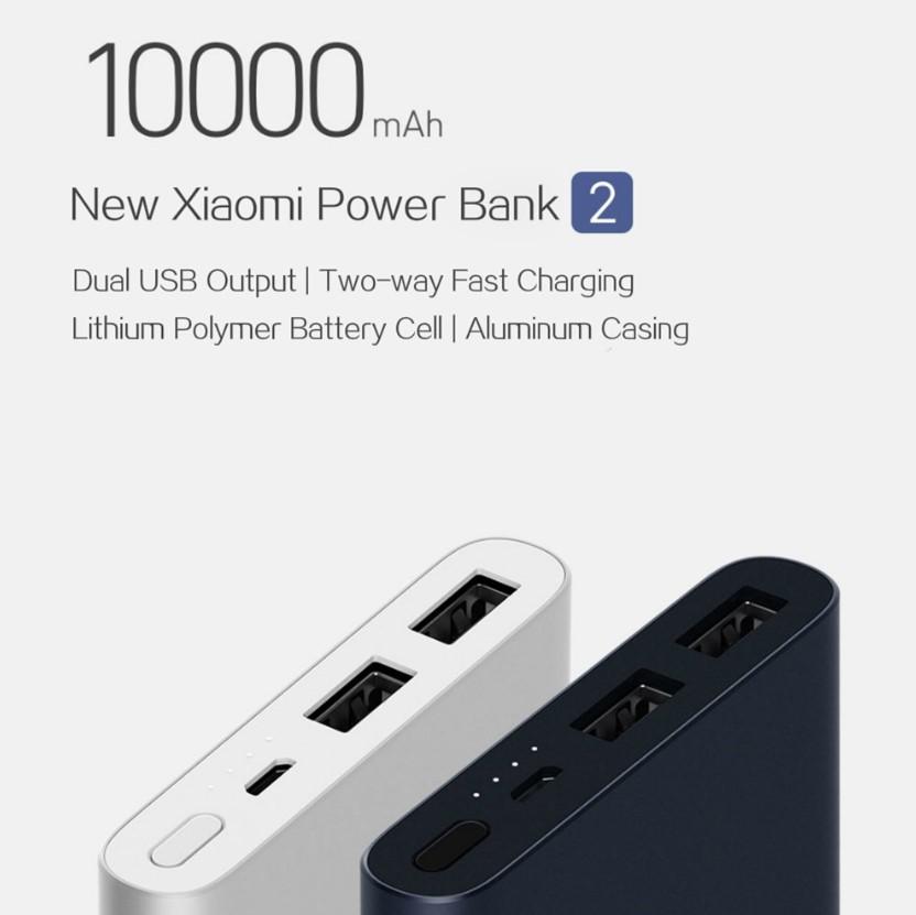 Xiaomi 10,000 Mah Powerbank 2