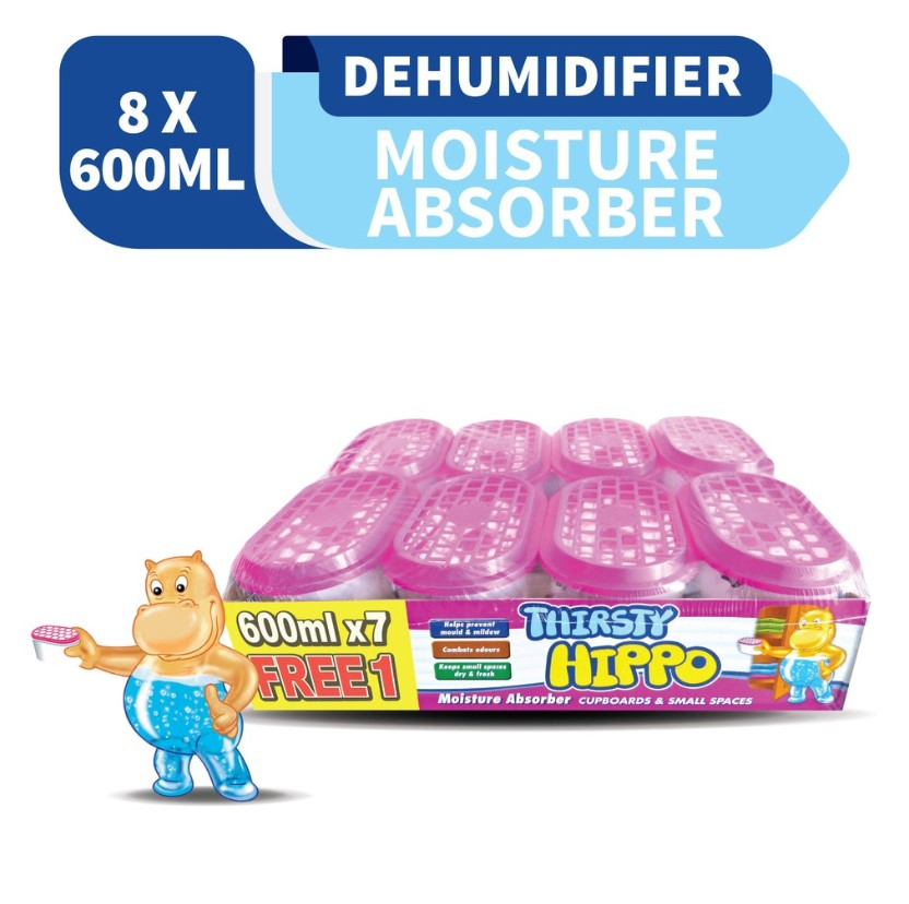 Thirsty Hippo Dehumidifier Moisture Absorber
