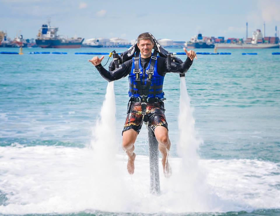 jet pack water sports singapore