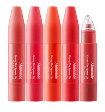 best korean lip tint mamonde creamy squeeze