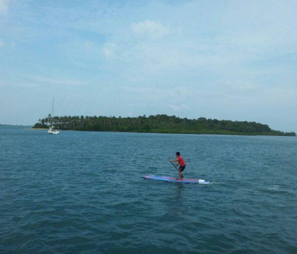 stand up paddling water sports singapore