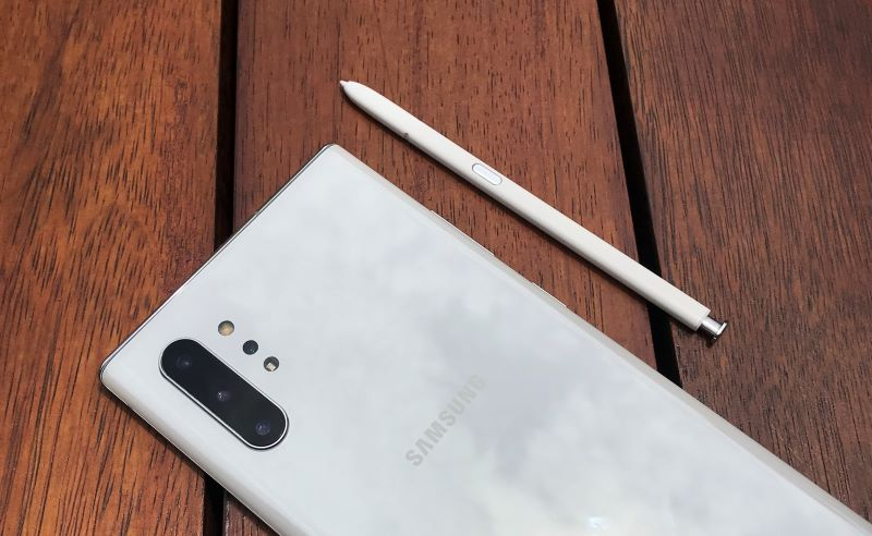 samsung galaxy note10+ review design