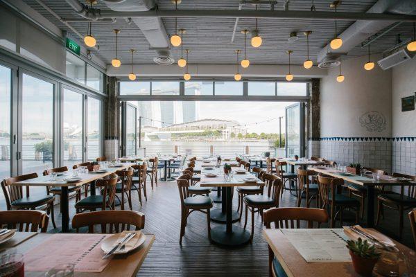 affordable romantic restaurants singapore super loco customs house