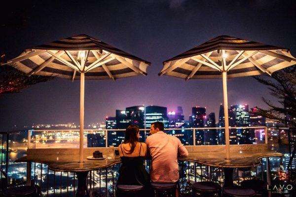 romantic restaurants singapore lavo dance floor