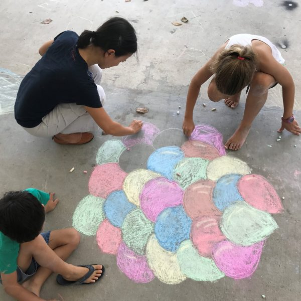 december school holidays 2019 activities for kids weekends in the park mass chalk art drawing