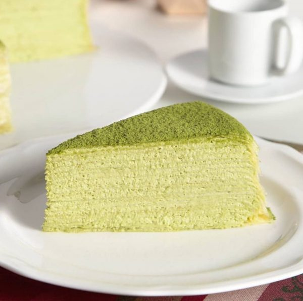 best matcha cake singapore lady m green tea mille crepe