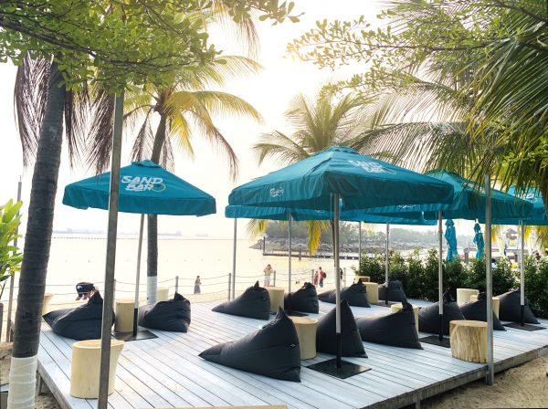 affordable romantic restaurants singapore coastes beach