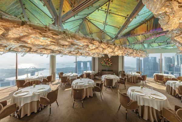 jaan by kirk westaway romantic restaurants in singapore valentine's day