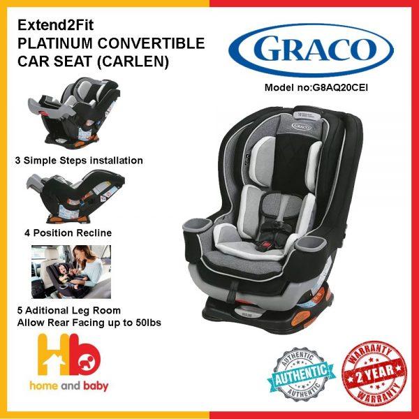 best baby car seat singapore extend2fit platinum convertible