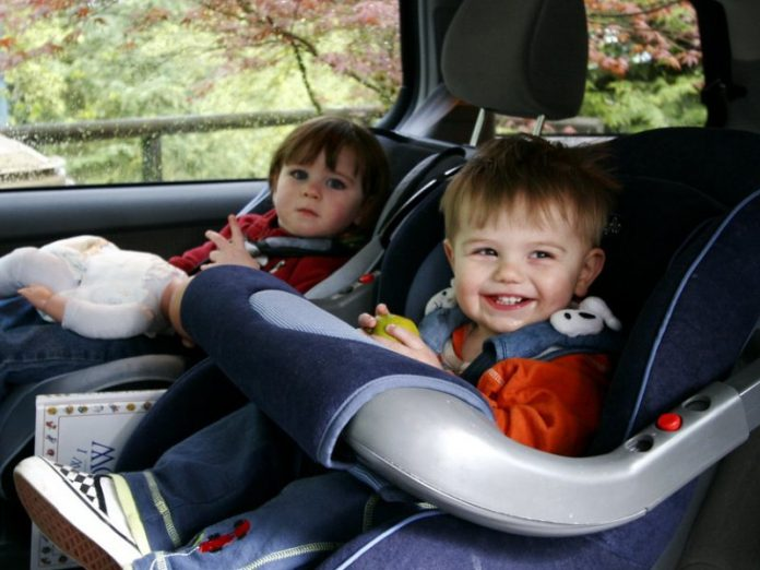 two babies car seat safety harness