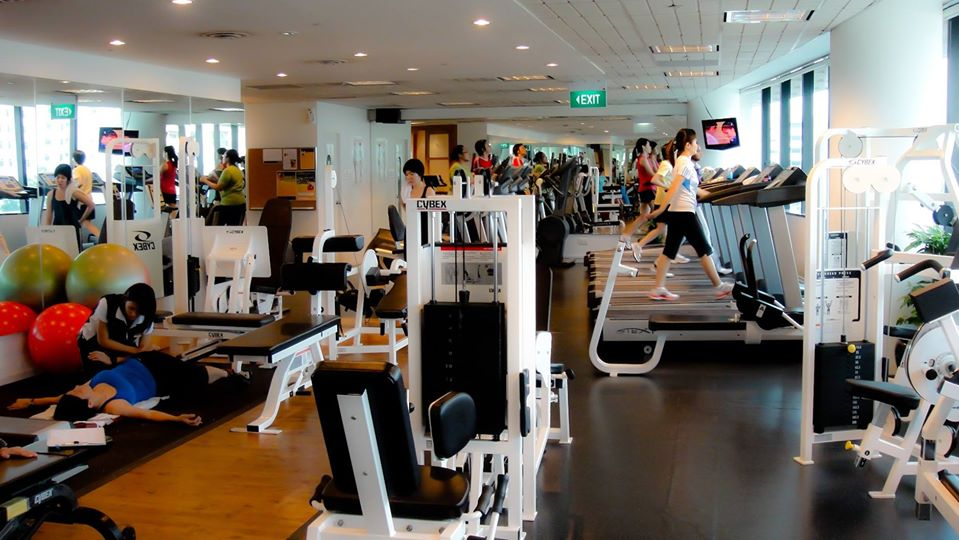 amore fitness ladies gym singapore
