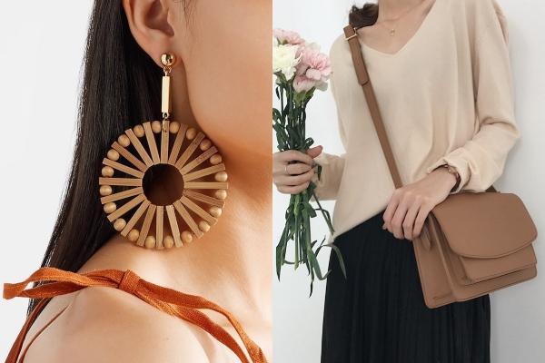 earrings and bag secret santa gift ideas