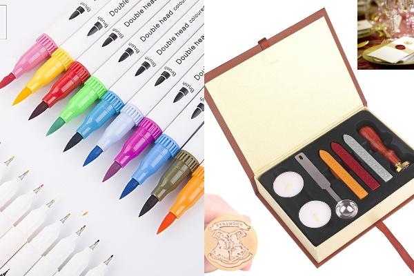 marker and wax seal secret santa gift ideas