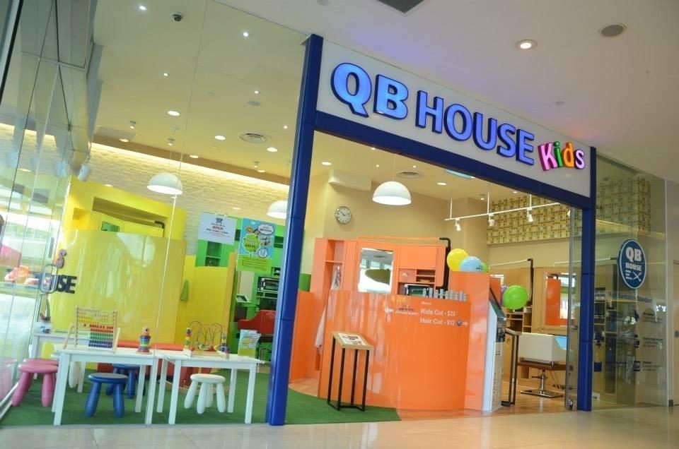 qb house kids baby haircut singapore