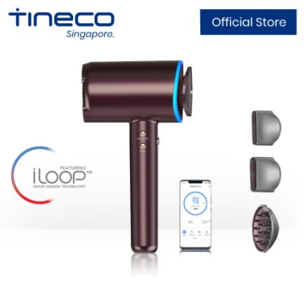 tineco smart hair dryer smart home singapore