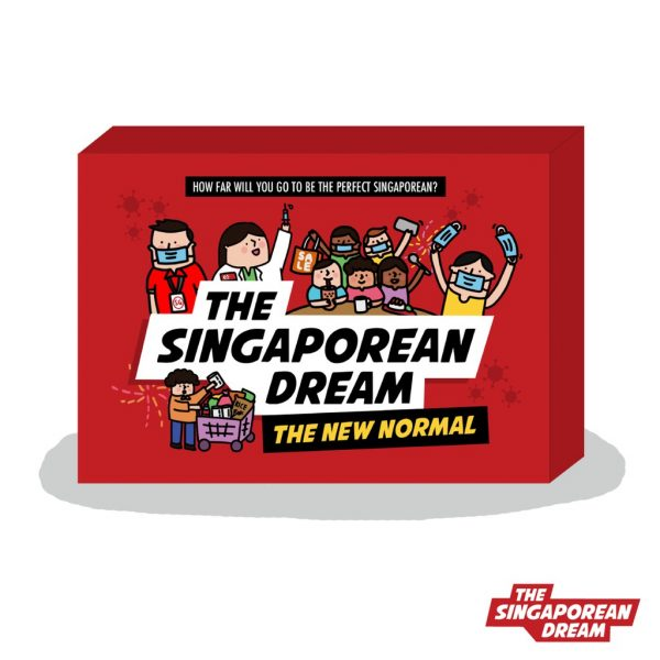 2020 christmas gift idea the singaporean dream card game new normal